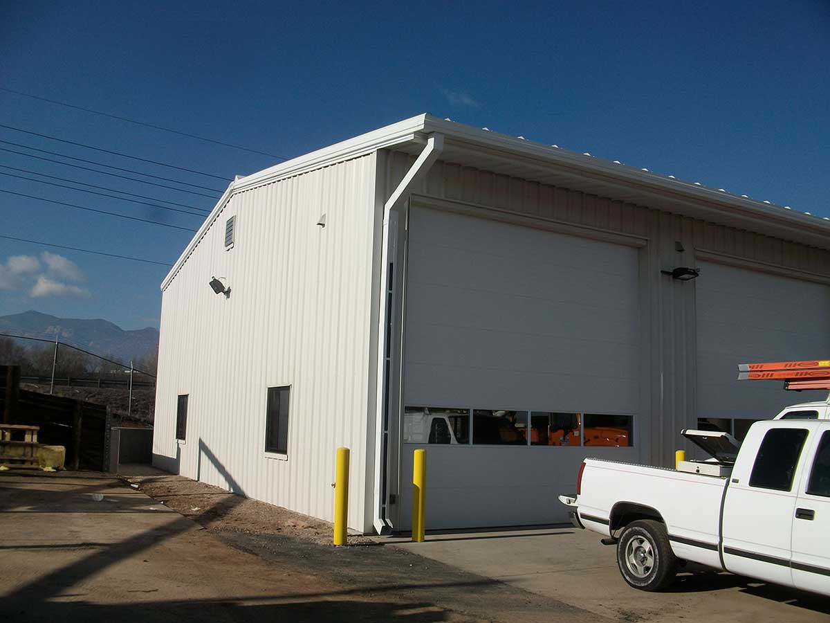 Wells & West Commercial General Contractors Colorado Springs Client CDOT Metal Building Addition Government