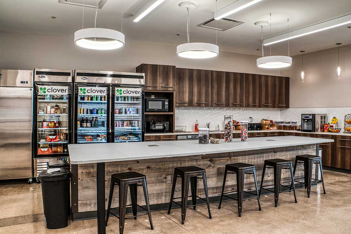 Wells & West Commercial General Contractors Colorado Springs Client Clover TI Interior Remodel Technology