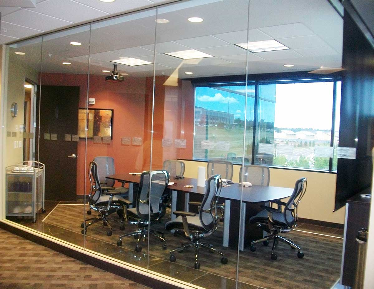 Wells & West Commercial General Contractors Colorado Springs Client Regus TI Tenant Improvement Office
