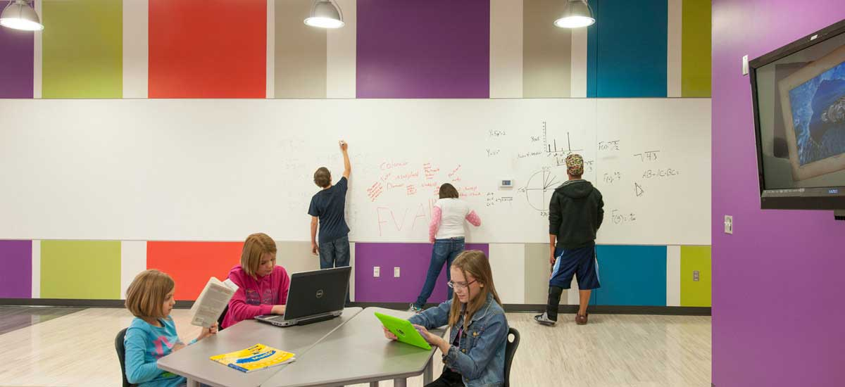 Wells & West Commercial General Contractors Colorado Springs Client D49 SSAE Interior Remodel Education