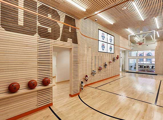 Wells & West Commercial General Contractors Colorado Springs Client USA Basketball Interior Remodel Non Profit